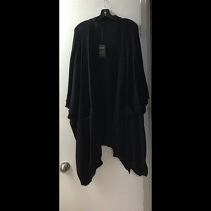 NWT DKR Cotton Cape with Pockets